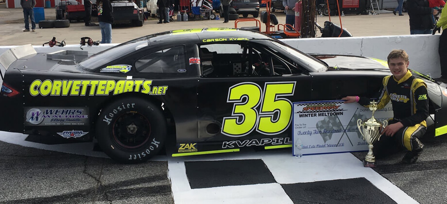PRW Chassis Grabs 1-2 Finish at Greenville Pickens Speedway with Kvapil, Pope